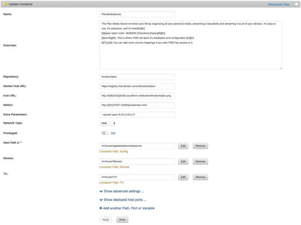 plex docker info.jpeg